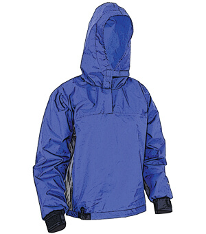 White Water Rafting Bblue splash jacket
